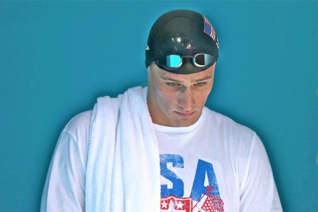 US Olympic Swimming Team 2012: Underwhelming Ryan Lochte Can't Live Up to Hype