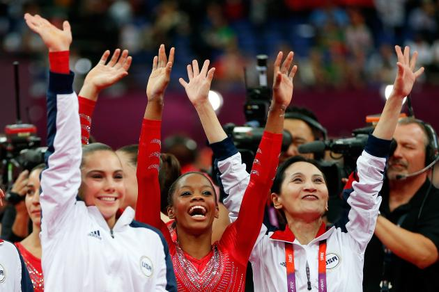 Olympic Gymnastics 2012: US Juggernaut Picks Up Steam with Team, Douglas Golds