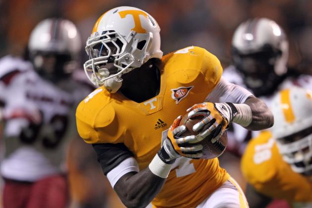 Tennessee Football: How Much Will the Vols Run Game Improve in 2012?
