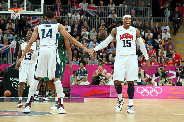 USA 156, Nigeria 73: Carmelo Anthony Proves Why He's Team USA's Key to Gold