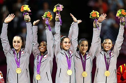US Olympic Gymnastics Team 2012: How Fab Five Will Be Remembered by Fans
