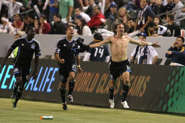 San Jose Earthquakes Don't Miss a Beat with Alan Gordon Leading the Line