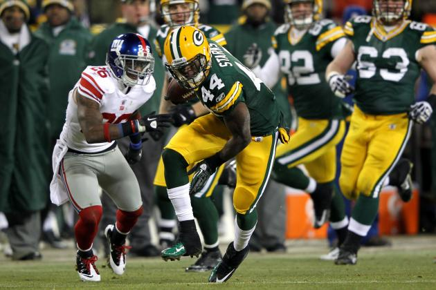 Why James Starks Should Be the Green Bay Packers' Feature Back in 2012
