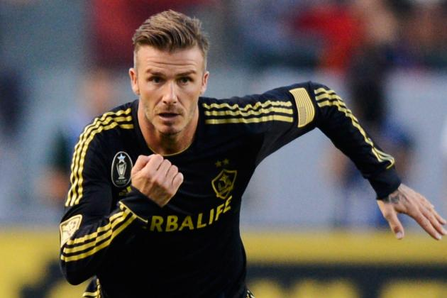 Real Madrid vs. Los Angeles Galaxy: Rating David Beckham's Performance