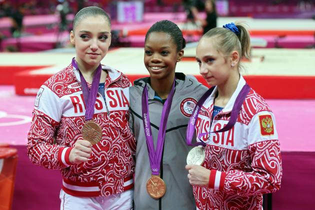 Women's Gymnastics All Around: Russia's Superb Talent No Match for Gabby Douglas