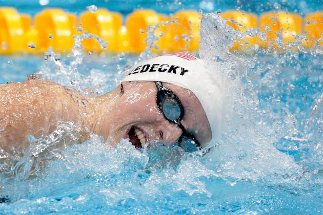 Katie Ledecky: 15-Year-Old Will Announce Arrival with 800-Meter Freestyle Medal