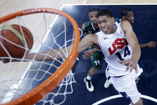Team USA Blowouts Are Helping David Stern's Case for U-23 Age Limit in Olympics