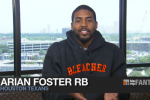 Arian Foster Breaks Down the Top Fantasy RBs