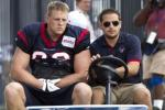 Texans' J.J. Watt Dislocates Elbow: Ready for Week 1?