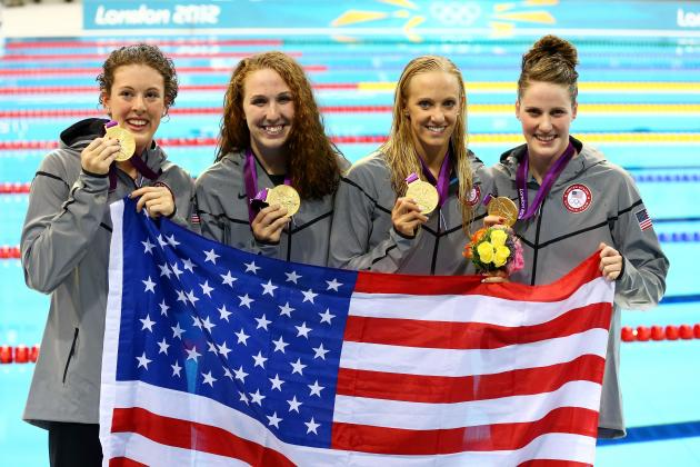 Olympic Swimming 2012 Results: Unsung Heroes Push the US over the Top