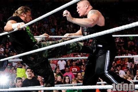 WWE SummerSlam 2012: Why Triple H and Brock Lesnar Are Important for the Future
