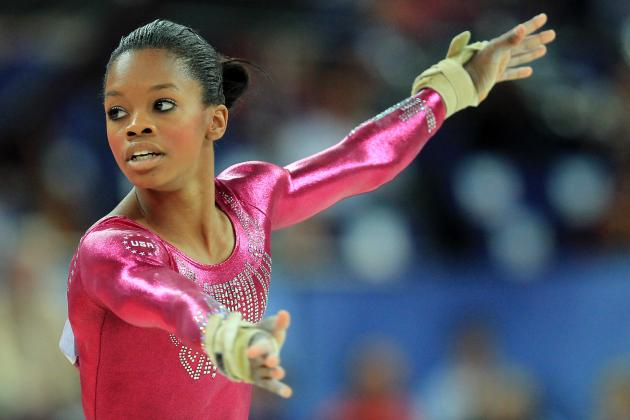 Gabby Douglas Dougie: Olympic Gold Medalist Can't Dance