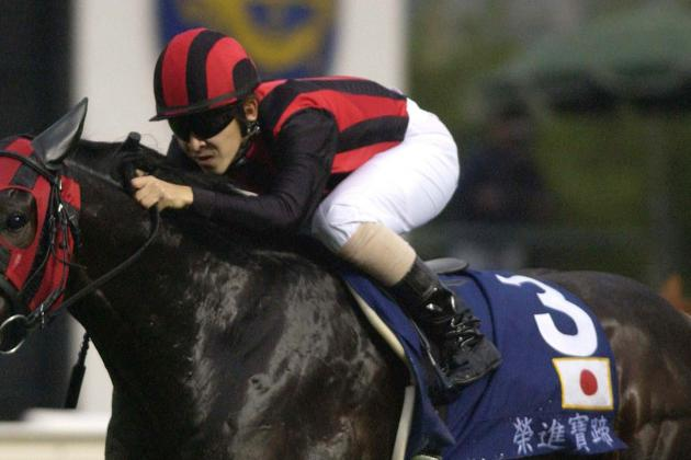 Japanese Riding Champ Finally Scores at Seaside