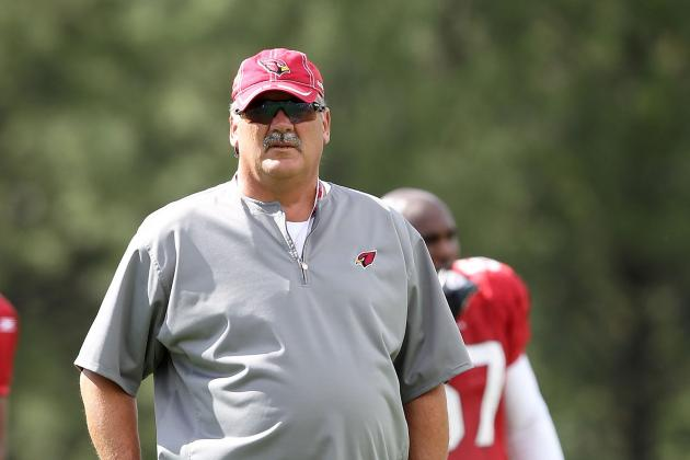 Arizona Cardinals OL Coach Russ Grimm Returning to Hall of Fame