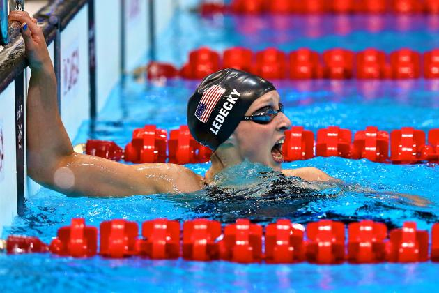 Katie Ledecky: 15-Year-Old Wins Gold for USA in 800-Meter Freestyle