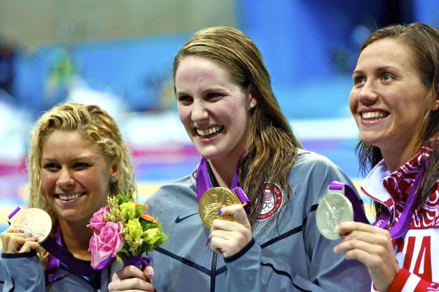 Olympic Swimming Results 2012: Missy Franklin Takes Gold in 200m Backstroke