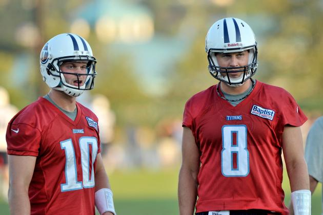 Tennessee Titans QB Controversy: Why Locker Should Start over Hasselbeck