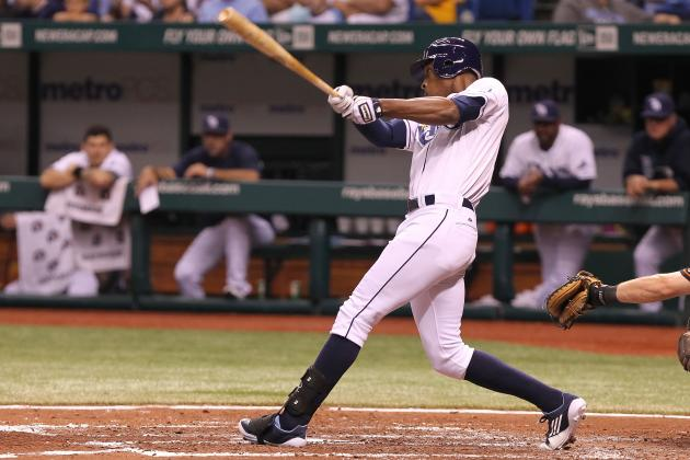 Tampa Bay Rays: B.J. Upton Hits 100th Home Run on Same Day as Brother Justin