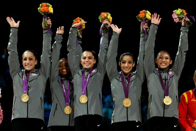 2012 Women's Gymnastic Olympic Team: USA Well Represented in Individual Finals