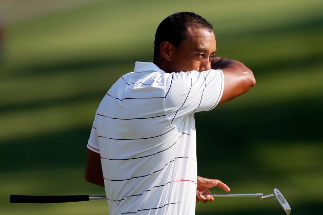 Tiger Woods at Bridgestone Invitational 2012: Poor Showing Is Bad Omen for PGA