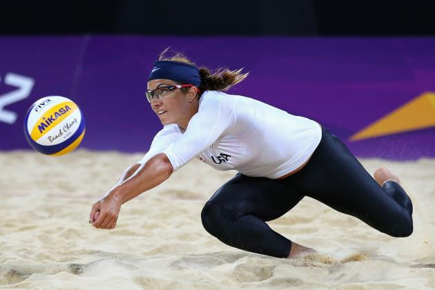 Misty May-Treanor and Kerri Walsh 2012 Olympics: Round of 16 Results, Highlights