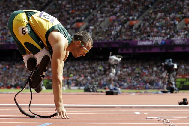 Oscar Pistorius Advances: Watch Blade Runner Take Second, Advance to Semis