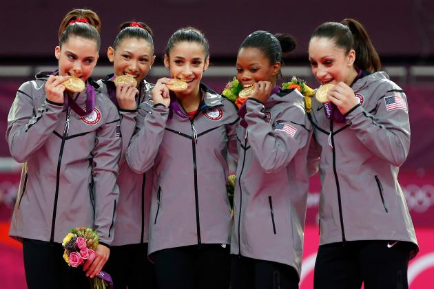 U.S. Women's Gymnastics Olympic Team 2012: Showcasing Effect Fab 5 Has on US