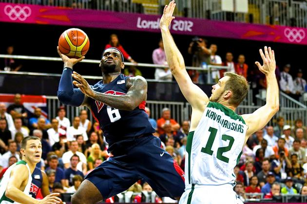 Lithuania vs. USA Men's Olympic Basketball: Live Score, Stats, Recap