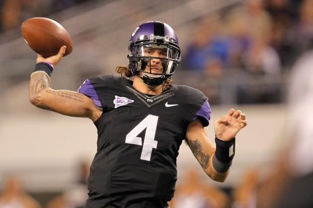 TCU Football: Starting QB Casey Pachall Admitted to Occasional Drug Use