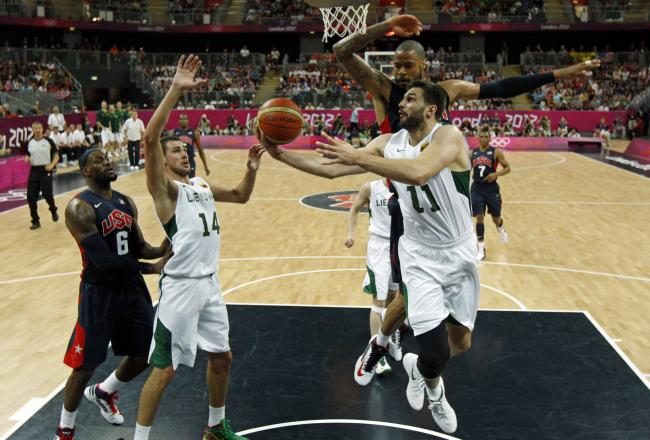 Lithuania vs. USA 2012 Olympics