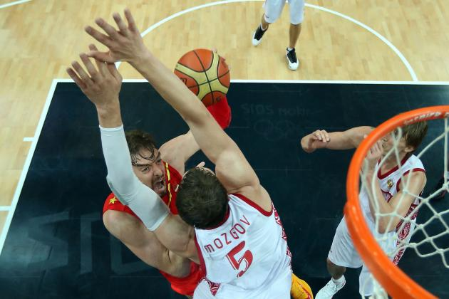 Olympic Basketball 2012 Schedule: How Russia's Upset of Spain Changes Everything