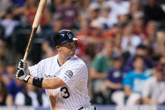 Rockies Place Michael Cuddyer on DL; Recall 1B Matt McBride