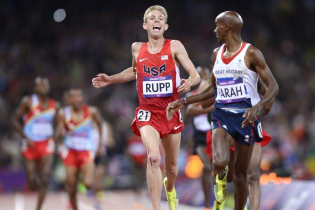 Olympic Track Results 2012:  10,000 Meters Medals for Mo Farah, Galen Rupp