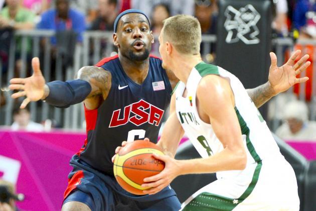 USA vs. Lithuania Olympic Basketball: Grades, Twitter Reaction and Analysis
