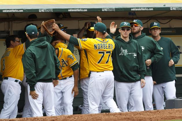 A's Can't Hold 9th-Inning Lead and Fall in 11 Innings 3-1