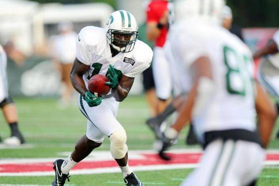 Santonio Holmes' Ribs and Other News from Saturday's Jets Scrimmage