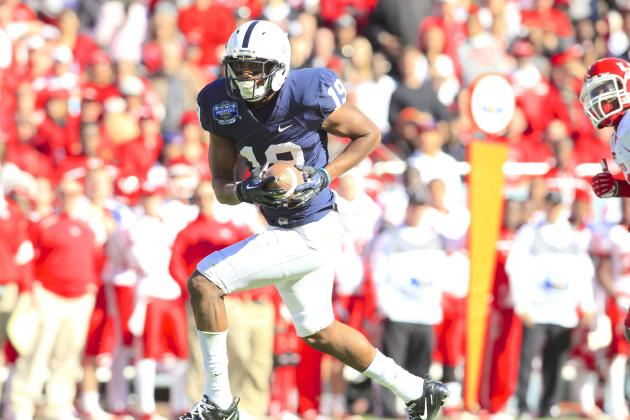 Penn State WR Justin Brown Will Reportedly Transfer to Oklahoma