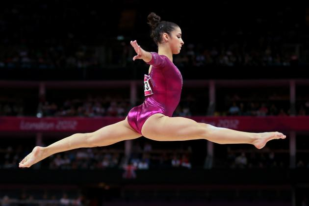 Aly Raisman: US Team Captain Will Leave London with Solo Floor Routine Gold