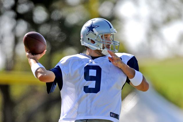 Top-10 Club for NFL QBs: Tony Romo Is Already in