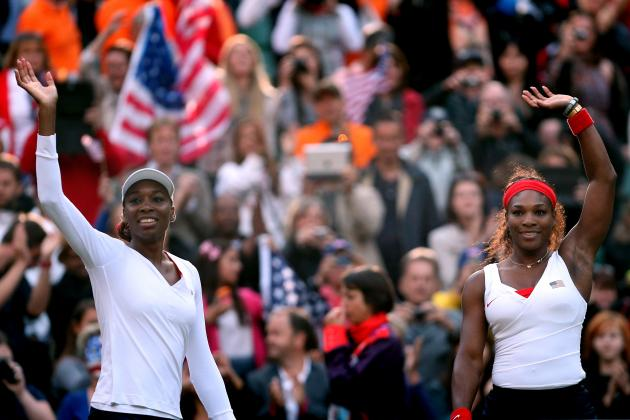 Olympic Tennis 2012: Serena Will Lead the Williams Sisters to Win Third Gold