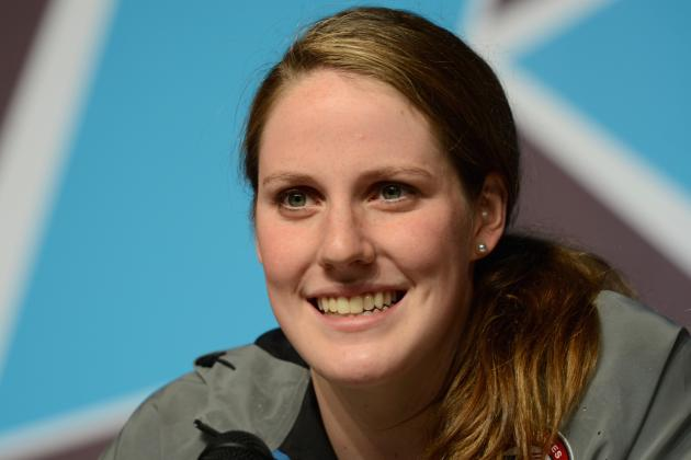 Olympics 2012: USA Swimming's Missy Franklin Ignites London as She Tops Week 1