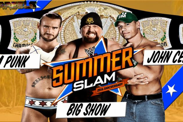 WWE SummerSlam 2012: Why CM Punk vs. John Cena vs. Big Show Will Surprise People