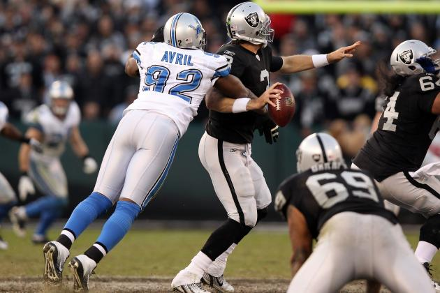 Cliff Avril: Lions DE Signs Franchise Tender to Play with Detroit in 2012