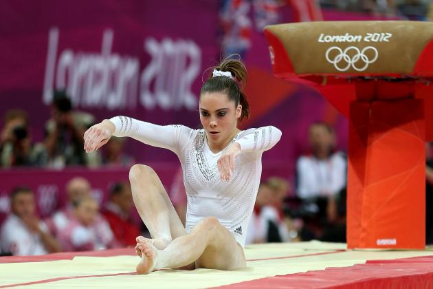Olympic Gymnastics 2012: McKayla Maroney's Vault Silver Is Upset of Olympics