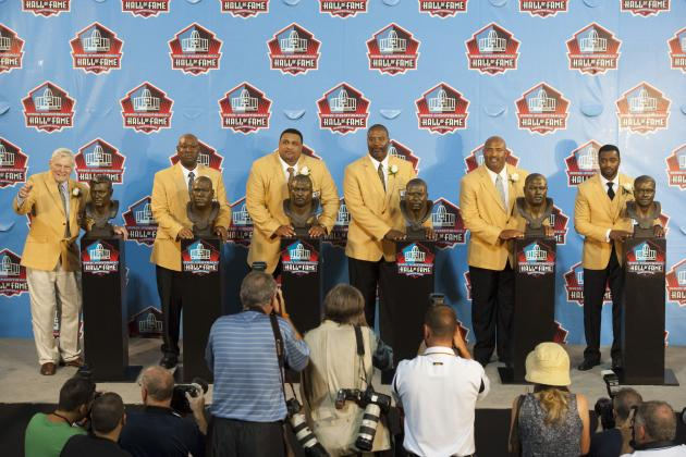 NFL Hall of Fame Induction Ceremony 2012: Martin, Roaf Headline Excellent Class