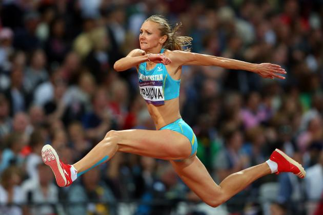Olympic Track and Field 2012: Olga Rypakova Wins Gold in Triple Jump