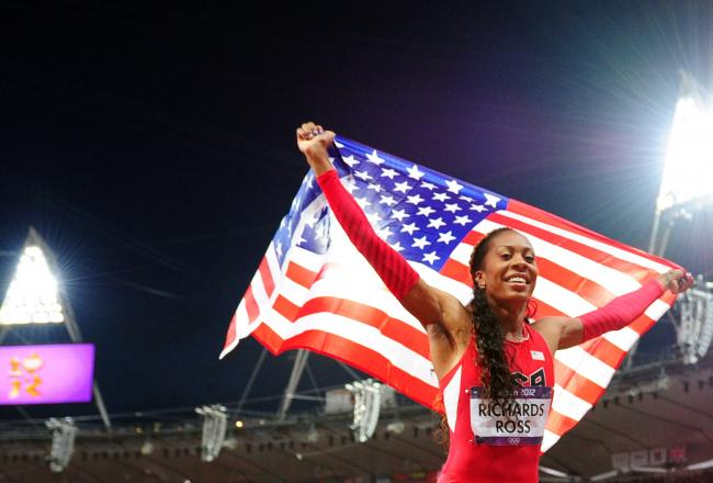 The woman of the hour: Sanya Richards-Ross