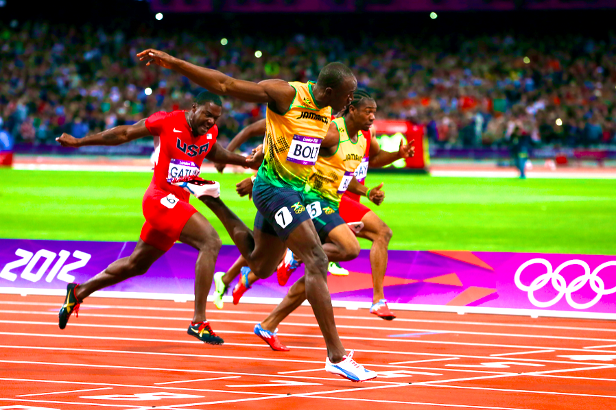 Usain Bolt Wins Men's 100m Dash in Olympic Record Time ...