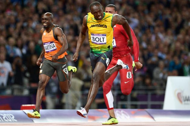 Usain Bolt London 2012 Fastest Man: Is the NFL in His Future?