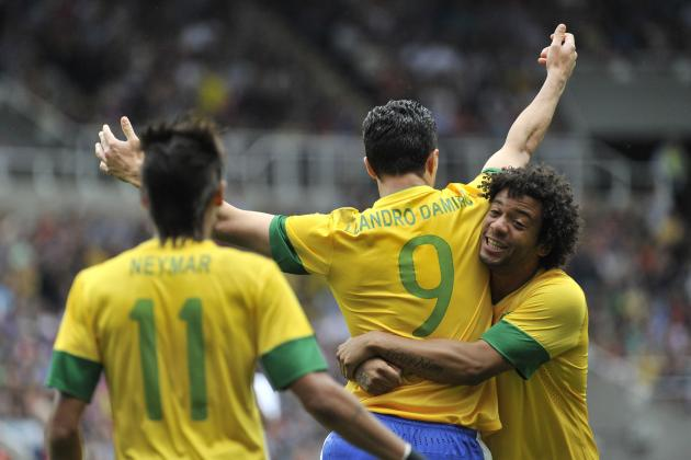 Olympic Soccer 2012: Brazil vs. South Korea Semifinal TV Info, Prediction